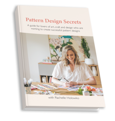 Pattern Design Secrets Book cover 2 copy