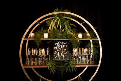 Weed bar for wedding in oregon