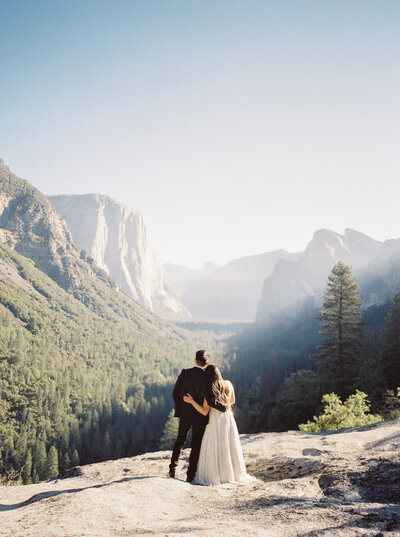 Adventure Elopement Photographer at Yosemite National Park