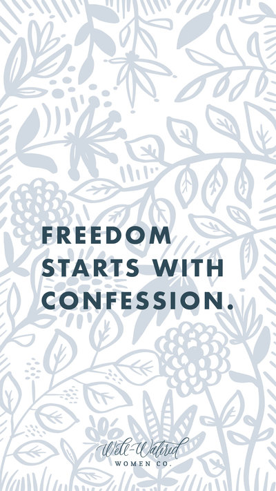 Freedom Confession Lockscreen