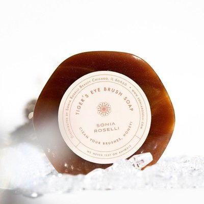 Sonia Roselli Beauty Tiger's Eye Brush Soap