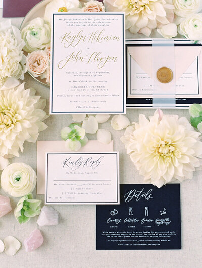 pirouettepaper.com | Wedding Stationery, Signage and Invitations | Pirouette Paper Company | Invitations | Jordan Galindo Photography _ (74)