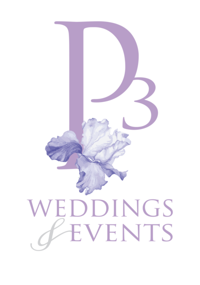 P3 Wedding & Events Alt Logo_Lav