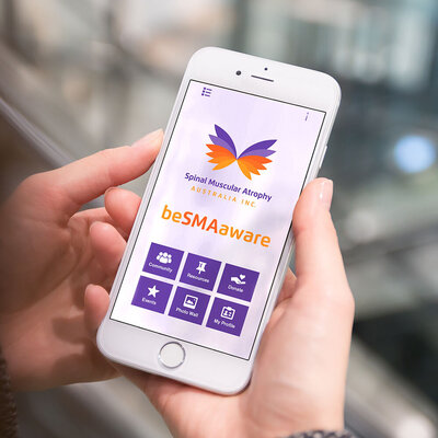 SMA App design by The Brand Advisory