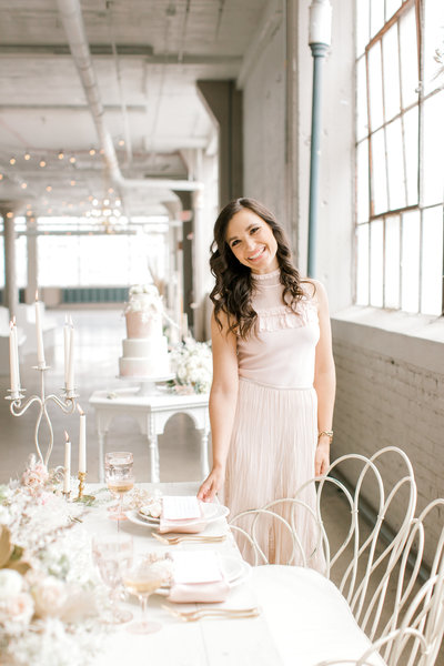 Nicole Sirpilla, Owner and Certified Wedding Planner at Sirpilla Soirees, a Cleveland Ohio Wedding Planner