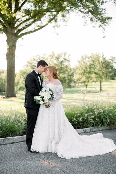 Fall Wedding at Evansville Country Club