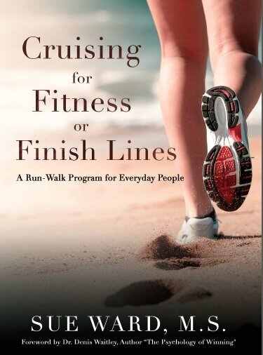 Cruising for Fitness or Finish Lines book cover_Sue Ward