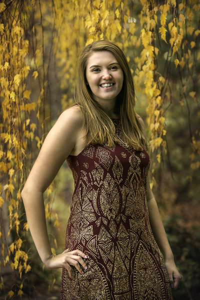 Senior Photos Denver Botanical Gardens | Family Story Photography