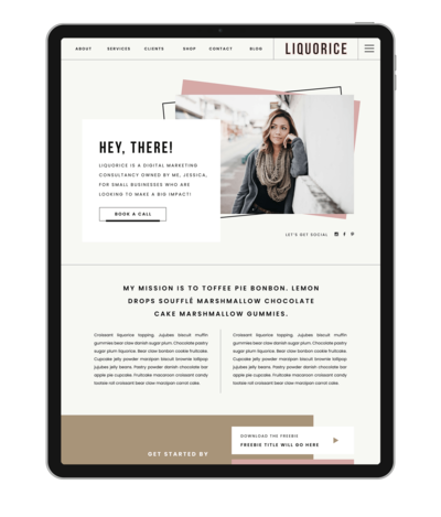 liquorice-showit-template-iPad