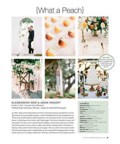 Charleston Weddings Magazine 4