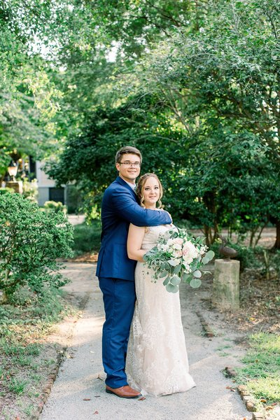 wedding photography at the lace house in columbia sc