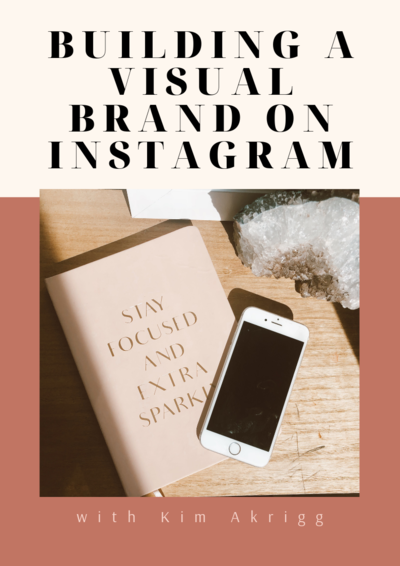 Building a visual brand on Instagram Workbook