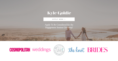 Engagement Session Giveaway ShowIt Template - Kyle Goldie