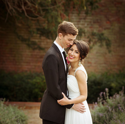 Wedding photography at the walled garden Beeston Fileds.