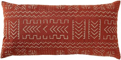 Mudcloth-Inspired Throw Pillow