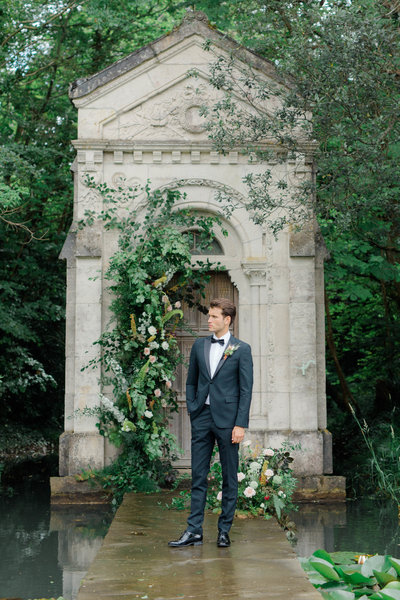 Cliff at Lyons Ireland Wedding with  Destination Film Wedding Photographer Sarah Sunstrom Photography