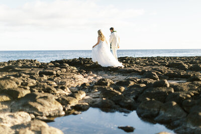 Destination Wedding in Kauai, Hawaii.