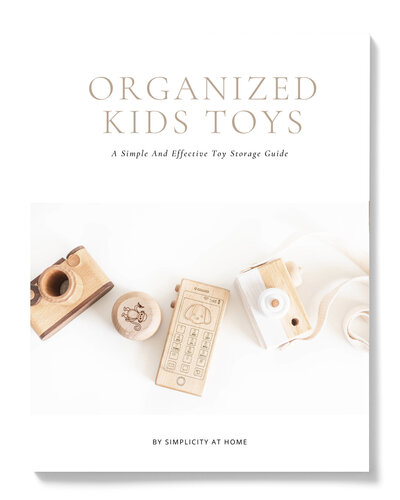 A simple and effective kids toy storage guide