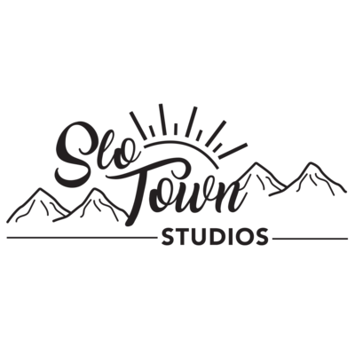 SLO Town Studios Wedding Videographer and photographer logo