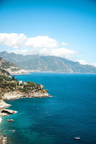Cliffside in Amalfi Coast