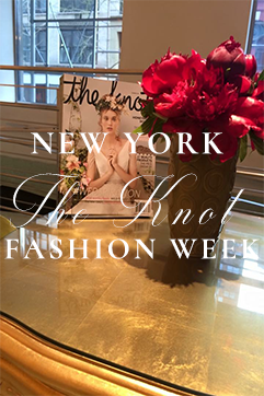 New York Bridal Fashion Week Top NYC Event Wedding Planner The Knot