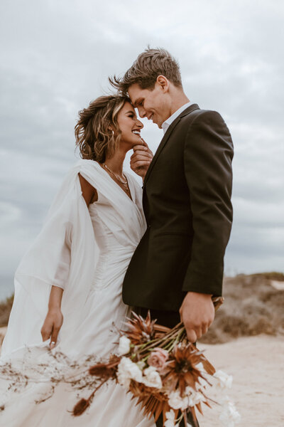 Kacee + Zac _ San Diego Cliffside Elopement _ Alison Faith Photography-5977