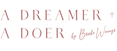 A Dreamer and A Doer Logo
