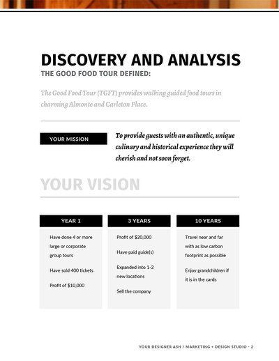 Discovery and Analysis Marketing Strategy and Promo Plan