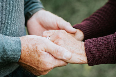 50 years of love hands holding