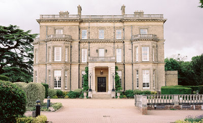 Exterior photo of Hedsor House, wedding venue in Buckinghamshire, England