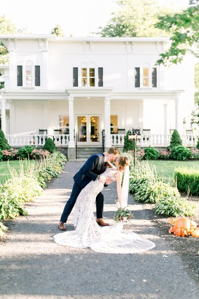John Joseph Inn wedding | Finger Lakes wedding photographer Emi Rose Studio