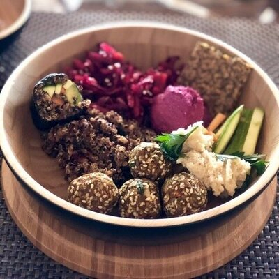 Delicious raw falafel recipe