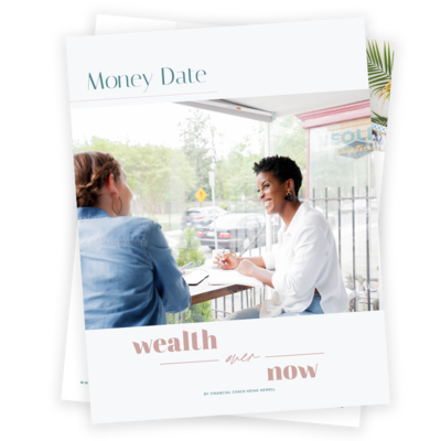 Money date mockup image of cover