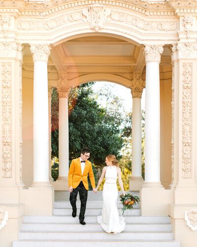 San Diego Colorful Elopement