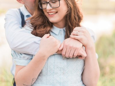 Camrose Engagement Photo