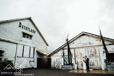 Dairyland is a wedding venue in the Seattle area, Washington area photographed by Seattle Wedding Photographer, Rebecca Anne Photography.