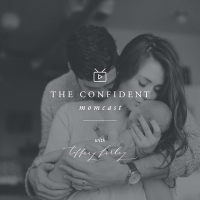 Pittsburgh Newborn Photographer Tiffany Farley is the host of The Confident Momcast, a live video podcast for pregnancy, birth, and postpartum