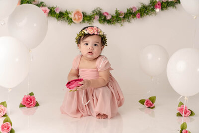 Beautiful little girl photoshoot Orlando Florida