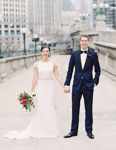 rosa-clara-wedding-dress-navy-suit