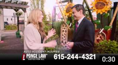 Poncie Law Commercial - Key Makeup and Hair