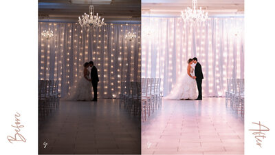 fairylight before and after