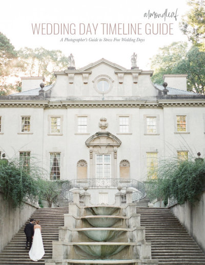 Wedding Timeline Guide for photographers