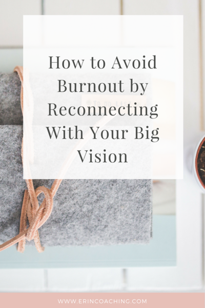 A Key to Avoid Burnout