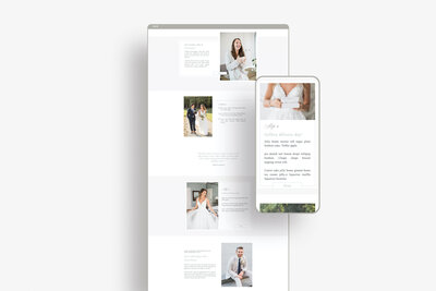 Showit Pricing Guide template