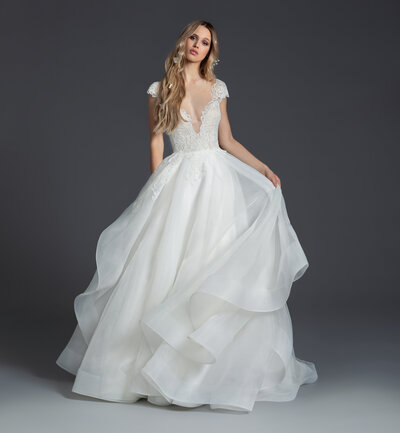 1950 Willow - Blush by Hayley Paige  - Janene's Bridal