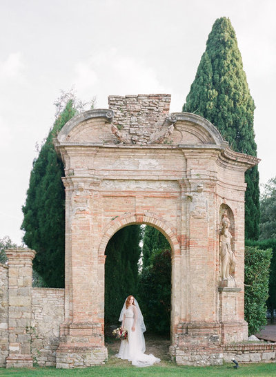 Villa di Geggiano Wedding by Molly Carr Photography