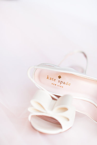 White Kate Spade Wedding Shoes Scottsdale, Arizona | Amy & Jordan Photography