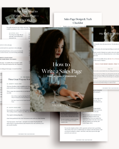 sales-page-guide-collage