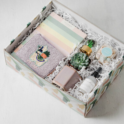 the blushing bride succulent gift box