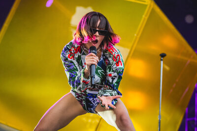 Charli XCX at Pitchfork Music Festival